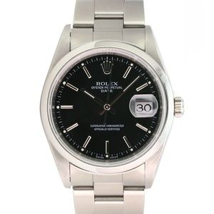 Rolex Mens Watch Oyster Perpetual Date 15200